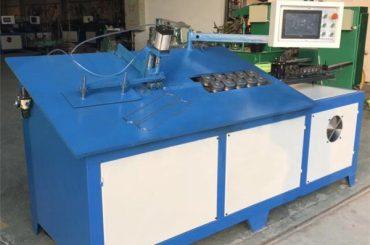 2D cnc автоматска челична жица свиткување машина