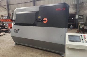 4mm-12mm хидрауличен CNC челик бар бендер, арматура за свиткување машина, автоматски челик стреме свиткување машина