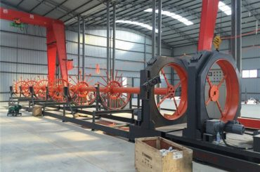 CNC челик кафез заварување машина челик ролна цвест заварувач употреба за градење