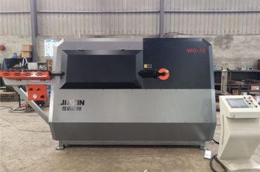Кина производителот 4-12mm автоматска CNC контрола челична жица, арматура виткање машина