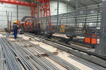 Произведено во Кина Едноставна работа Издржлива и цврста гаранција за квалитет на челични алати за кафез заварувачка машина и зајакнување на кафез