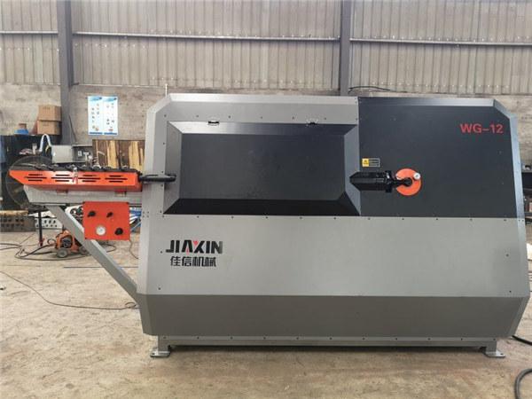 Пренослив арматурен механизам за виткање машина со ЦПУ со кружен челик за сечење и виткање машина